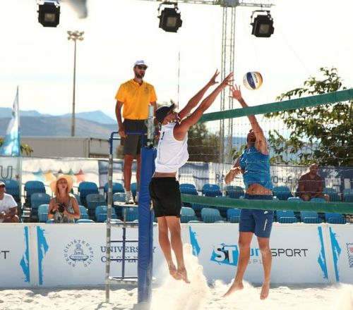 Beach Volleyball men schedule 1-12, 13-20